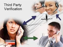 third party verification - tpv